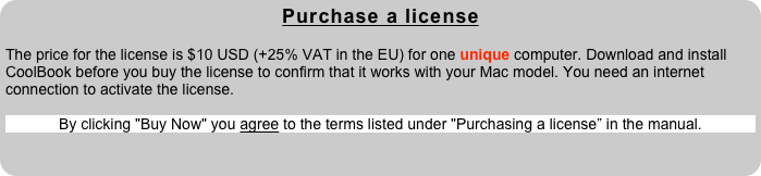 Purchase a license